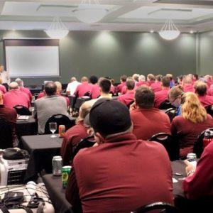 Batzner Business Update meeting at Batzner Pest Control in Wisconsin